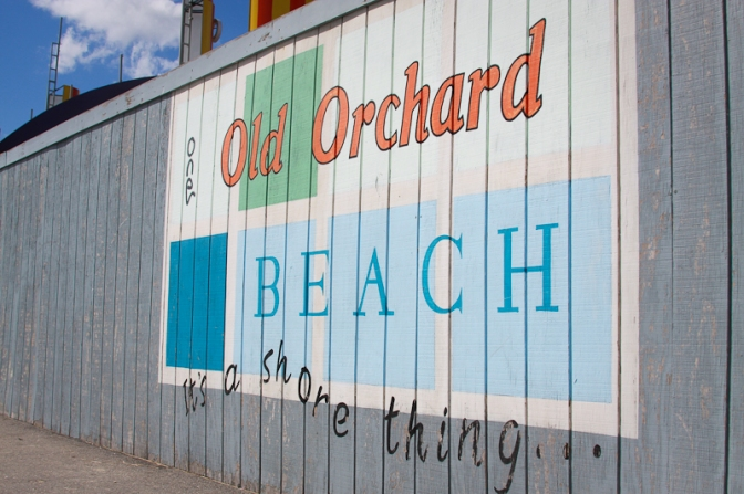 Old orchard beach oob coast sand sun atlantic maine tourist tourism amusement park