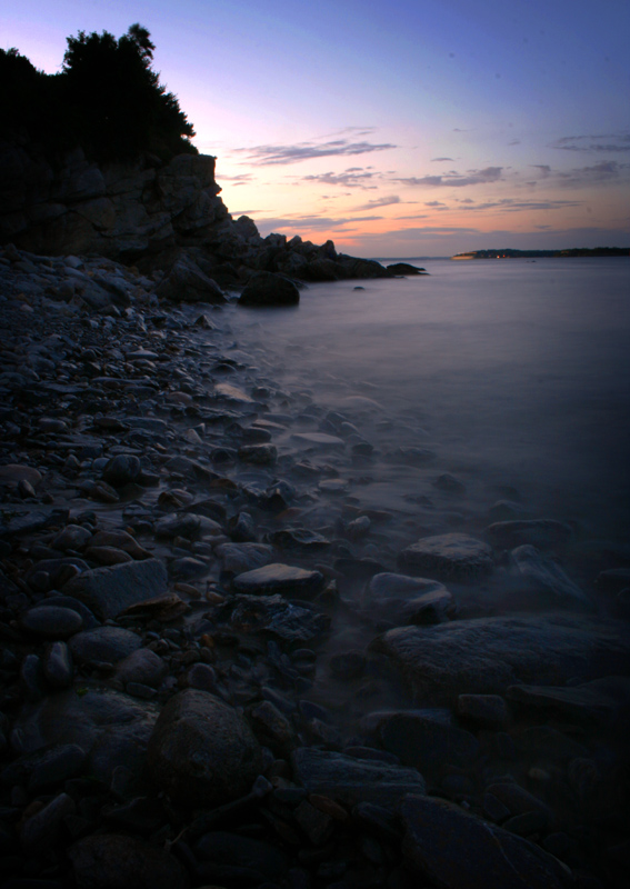 maine sea seascape shore ocean sunset photo photography coast waves rocky