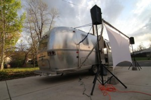 roma red reel video airstream travel trailer 23 feet