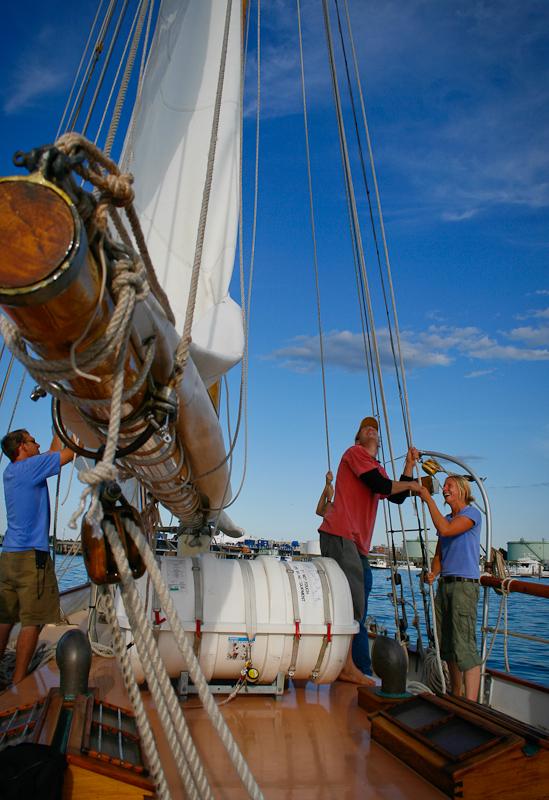 maine, schooner, boat, sail, sailboat, ship, atlantic, maritime, boothbay