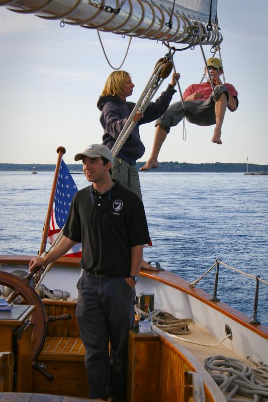 captain, crew, schooner, ship, boat, sail, sailboat, maine, maritime, atlantic, ocean