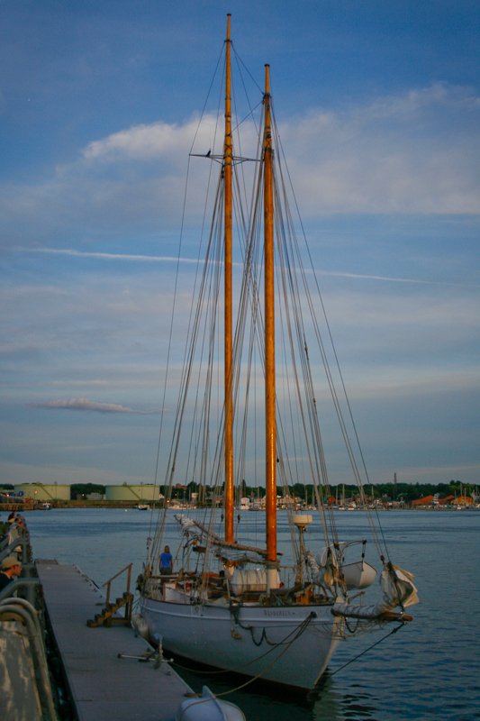schooner, sail, sailboat, ship, maine, maritime, ocean, atlantic