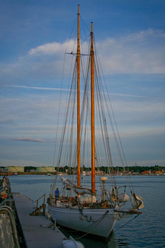 schooner, sail, sailboat, ship, maine, maritime, ocean, atlantic