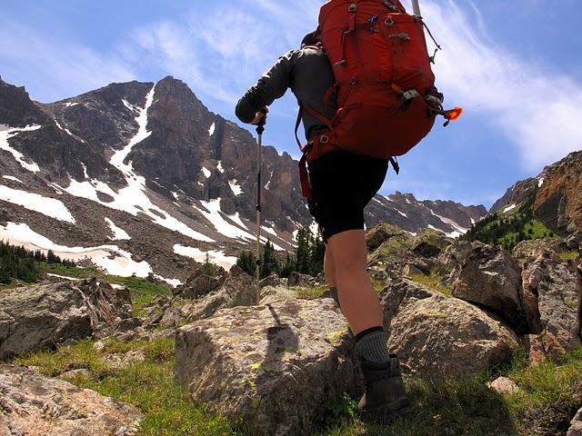 hike climb ascend mountain summit whitetail absaroka beartooth montana
