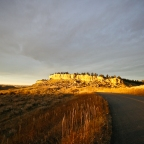 Winter Sunset in Big Sky Country [PHOTO]
