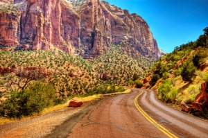 road road-trip zion national park southwest photography highway scenic
