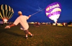 Hot Air Balloon Wrestling, Billings, MT
