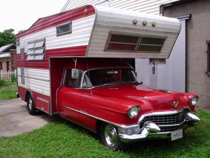 Cadillac Camper RV style