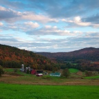 So Beautiful it Looks Fake: Vermont Farm in Autumn