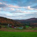So Beautiful it Looks Fake: Vermont Farm in Autumn