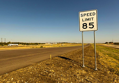 Texas highway 130, Highest posted speed limit in the nation.