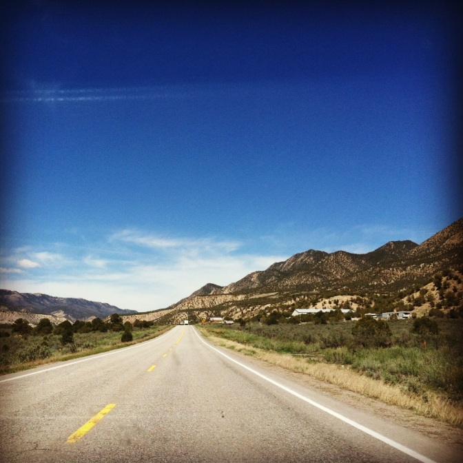 Colorado hwy 13 going north