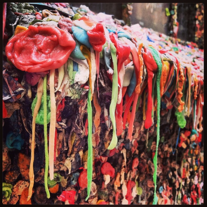 Gum Wall, Pike Street Market, Seattle, WA