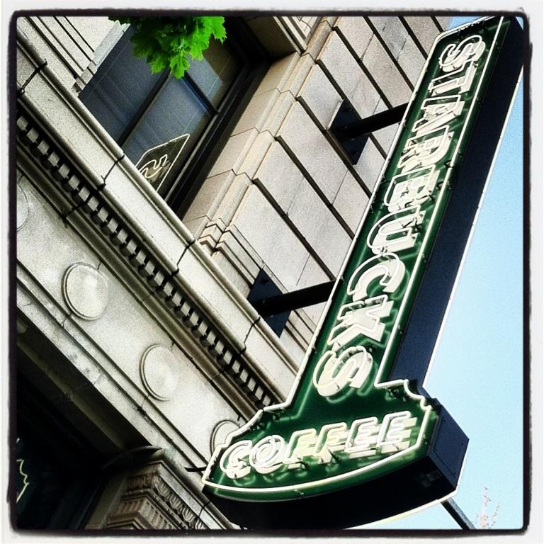 Starbucks Ballard neighborhood, Seattle, WA