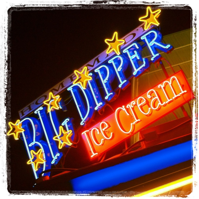 Big Dipper Ice Cream, Missoula, MT. Best ice cream