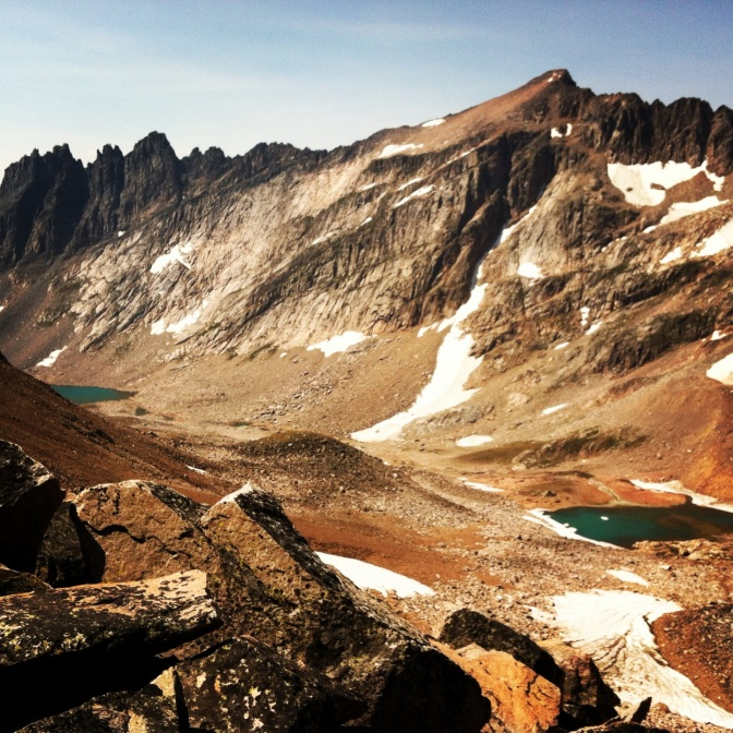 Deep in the Beartooth Mountains, way-out-there-someplace, Montana