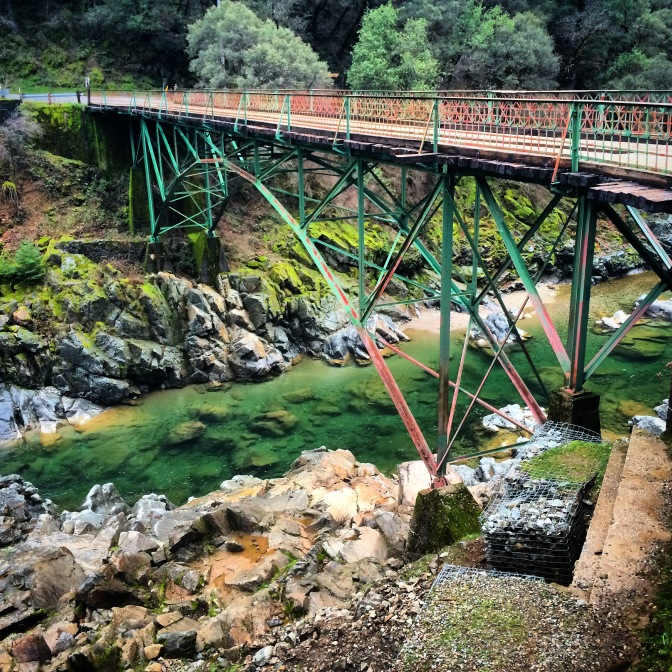 Nevada City Bridge on the South Yuba River