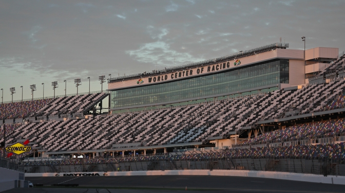 daytona international speedway morning light, travel