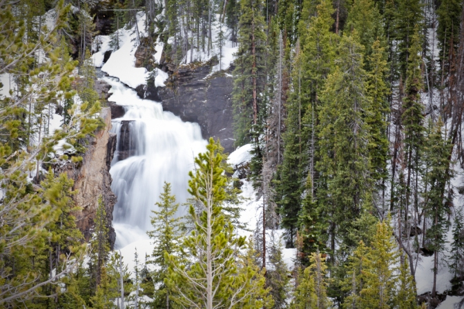 beartooth falls, highway 312, red lodge, montana, beartooth pass, road trip