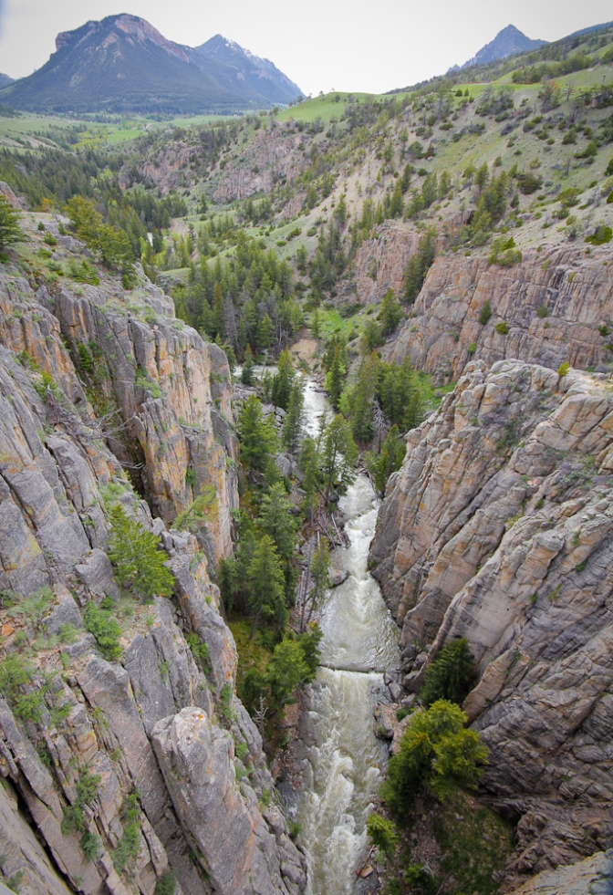 wyoming, chief joseph scenic byway, clarks fork canyon, travel, road trip